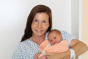 NATÁLIE ŠTĚPÁNKOVÁ (2,9 kg a 47 cm) – toto jméno vybrali pro svou prvorozenou dceru Karolína a Petr Štěpánkovi ze Sobětuch.