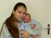 ERNEST PUTNOKI (3,4 kg a 51 cm) je od 21.1. od 4:06 jméno prvního miminka Martiny a Ernesta z Heřmanova Městce.