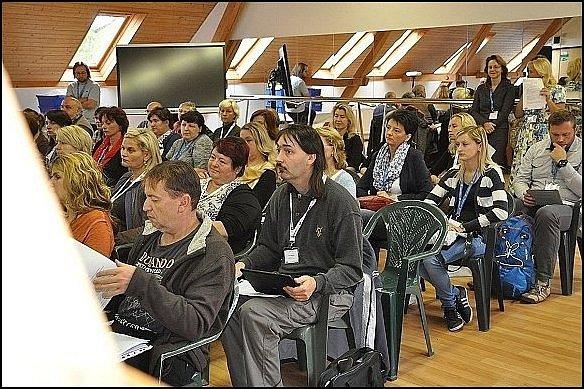 9. ročník SMART klubu Krajské konference o podpoře interaktivní výuky na ZŠ v Krouně.
