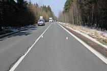 V pondělí 14. března došlo na silnici I/37 mezi obcí Rohozná a Nová Ves k dopravní nehodě.