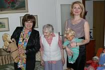 Do Chrudimi přijela na návštěvu Ministryně práce a sociálních věcí Ludmila Müllerová