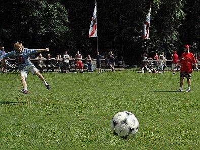 Nejdůležitější je míč správně umístit.