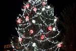 Vánoční strom v Třemošnici