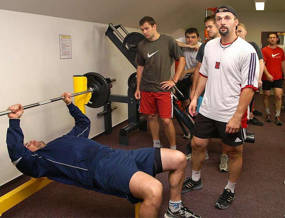 Hokejisté HC Chrudim absolvovali fyzické testy před novou sezonou.