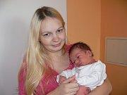 ŠTĚPÁN MOUČKA (3,39 kg a 51 cm) je od 25.10. od 9:30 jméno prvního miminka Veroniky a Karla ze Sloupnice.