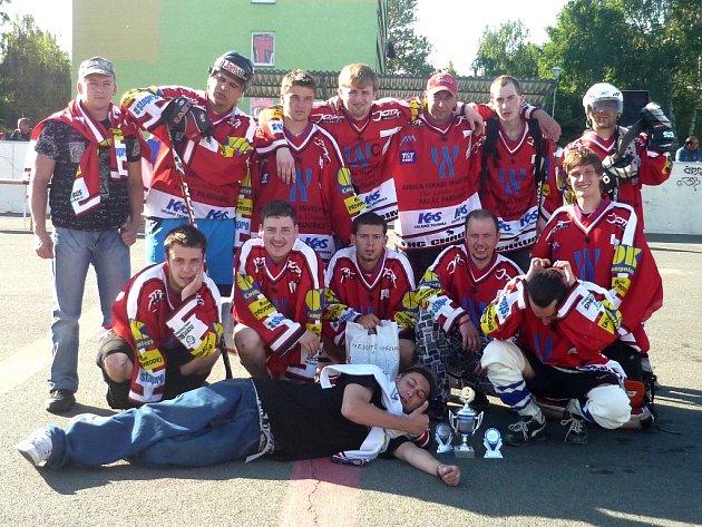 Hokejový fanklub HC Chrudim.