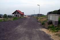 Výstavba v okolí Chrudimi.