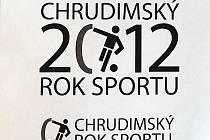 Logo Chrudimského roku sportu.