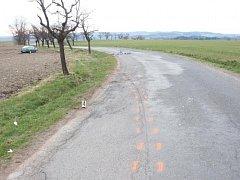 Osobní automobil poblíž obce Miřetín na Skutečsku srazil cyklistku.