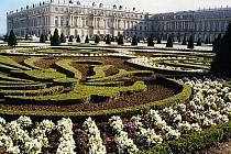 Francouzský zámek Versailles.