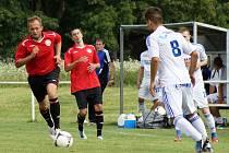 Z přípravného utkání Sigma Olomouc B – MFK Chrudim 3:0.