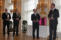 Ve Španělském sále Pražského hradu se předávalo ocenění Historické město roku. Chrudim skončila na nedělené stříbrné a bronzové příčce.
