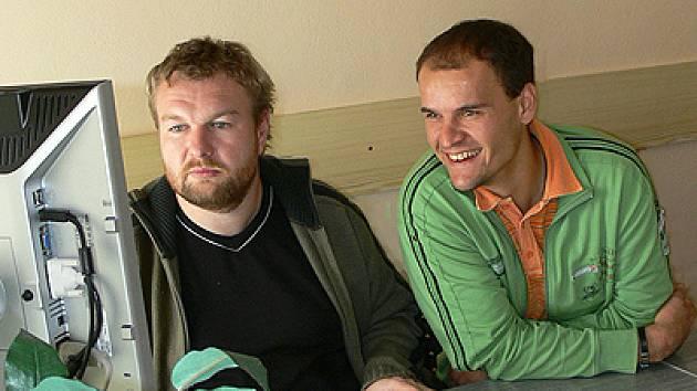 Tomáš Meller při on-line rozhovoru v redakci Chrudimského deníku.