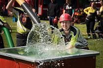 Soutěž družstev dobrovolných hasičů Putovní pohár Ondry Sachse v Heřmanově Městci