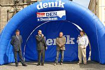 Resselovo náměstí patřilo již potřetí Dnu s Deníkem a debatě o obchvatu Chrudimi.