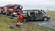 Nehoda na křižovatce u Chrudimi
