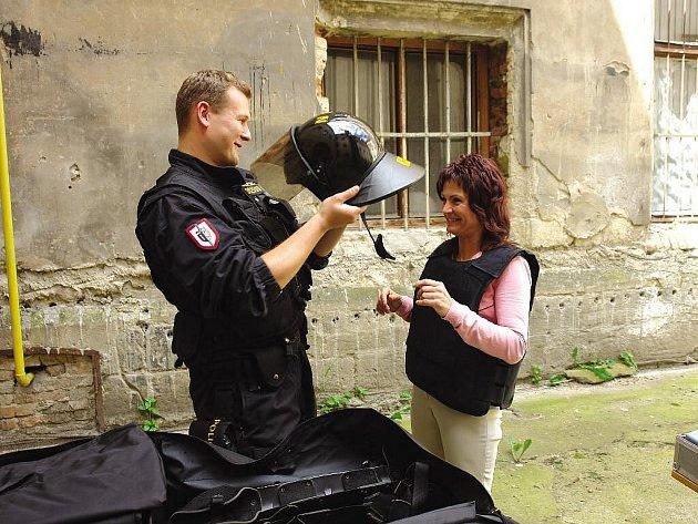 Chrudimská policie představila veřejnosti svou činnost v rámci dne otevřených dveří.