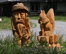 Z Betléma zmizel dřevěný trpaslík