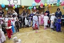 Dětský karneval v Bojanově.
