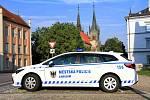 Chrudimští strážníci mají nové nízkoemisní auto