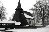 Kostel sv. Bartoloměje v Kočí u Chrudimi.