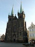 Chrudimský kostel Nanebevzetí Panny Marie.