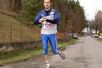 Vítěz na desetikilometrové trati Vladimír Lučan.