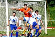 Z fotbalové utkání divize C AFK Chrudim vs. Pěnčín-Turnov 1:0.