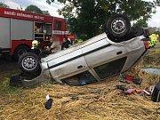 Tragická nehoda u Jezbořic.