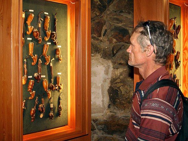 Muzeum dýmek v Proseči.
