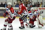 Hokejisté Chrudimi si v dalším kole I. ligy poradili doma s Havlíčkovým Brodem 4:1.