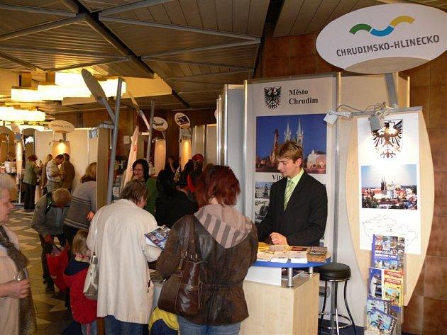 Na veletrhu cestovního ruchu ITEP 2008 v Plzni se představila i Chrudim.