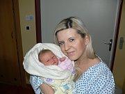 KAROLÍNKA HEJDUKOVÁ (3,14 kg a 51 cm) –  tak se od 7.1. od 13:06 jmenuje první dcera Lukáše a Michaely Hejdukových z Chrudimi.