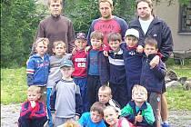 Radim Holub navštívil soustředění mladíčků AFK v Babákově.