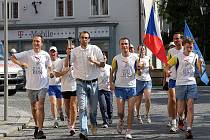 Štafetový běh World Harmony Run.