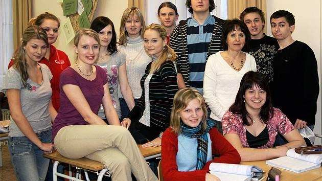 """Účetnictví mají studenti Obchodní akademie Chrudim """"v malíčku""""."""