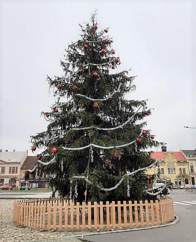 Vánoční strom - Heřmanův Městec