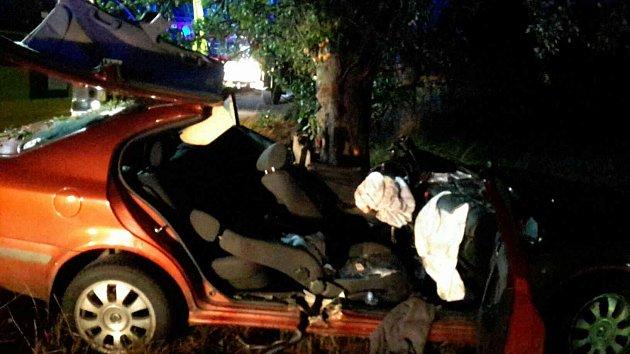 Dopravní nehoda uProsetína