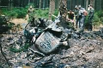 Pětadvacet let na podzim uplyne od zřícení vojenské stíhačky do lesů u Herálce. Dodnes mají lidé tragédii v paměti.