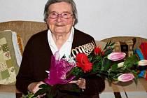 Anna Opočenská oslavila sté narozeniny.
