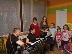 Čtyřlístkové zpívání v Třemošnici.