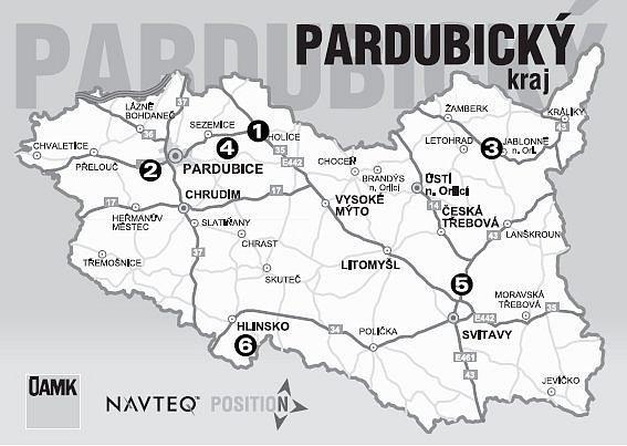 Omezení silniční dopravy vPardubickém krají.