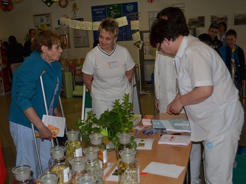 Ve vestibulu svitavské nemocnice se konal Den zdraví.