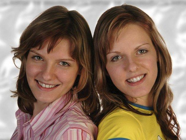 Lenka a Lucie Vrběckých.