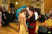 Maturitní ples Hotelové školy Bohemia v Chrudimi.