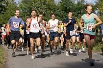 Start závodu na 10 km.