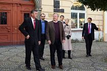 Chrudim navštívil bývalý americký ministr spravedlnosti John Ashcroft.