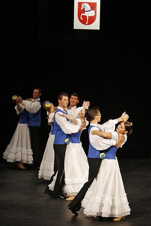 Otevření Multifunkčního centra zahájili tanečníci z TKG Hlinsko.