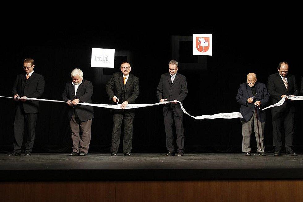 Slavnostní otevření Multifunkčního centra v Hlinsku.
