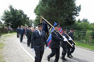 Hasiči ve Dřevíkově a Svobodných Hamrech slavili sté výročí založení sborů.
